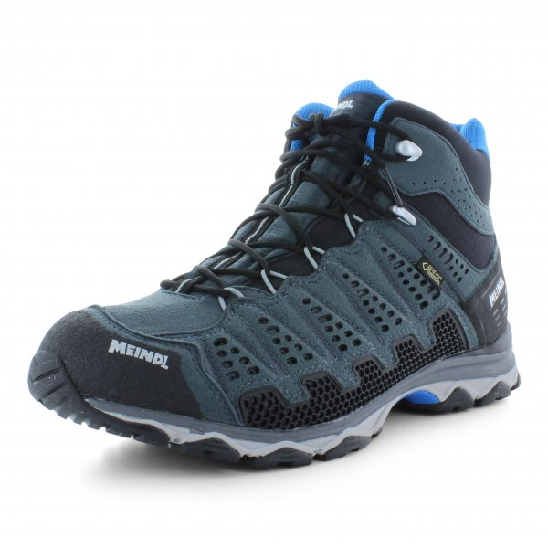 Meindl X-SO 70 Mid GTX anthrazit / blau