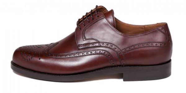 Budapester, castagno Calf, Business Schuhe der Marke László