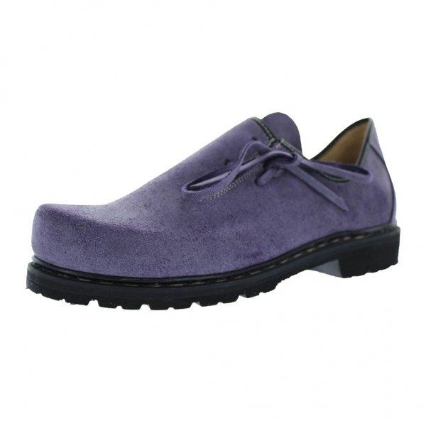 Damenhaferl Modell Liesl, gefettet violett