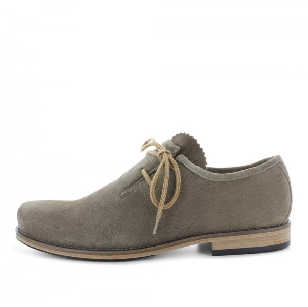 Dirndl+Bua Haferlschuhe March Antikbock taupe