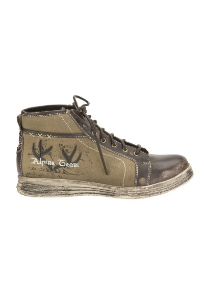Trachten Sneaker, Stockerpoint Modell 1295, braun vintage